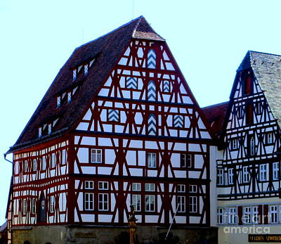 Photograph - Rothenburg 21 by Randall Weidner