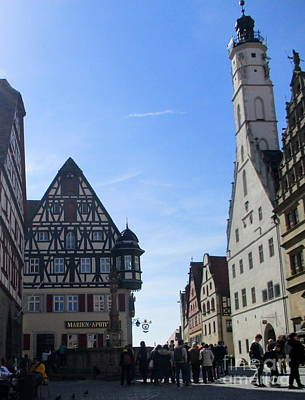 Photograph - Rothenburg 23 by Randall Weidner