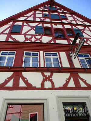 Photograph - Rothenburg 24 by Randall Weidner