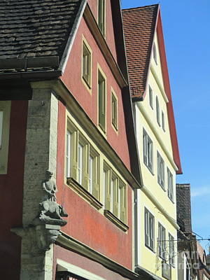 Photograph - Rothenburg 25 by Randall Weidner