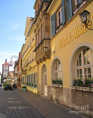 Photograph - Rothenburg 26 by Randall Weidner