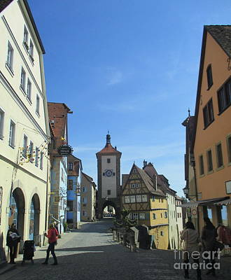 Photograph - Rothenburg 27 by Randall Weidner