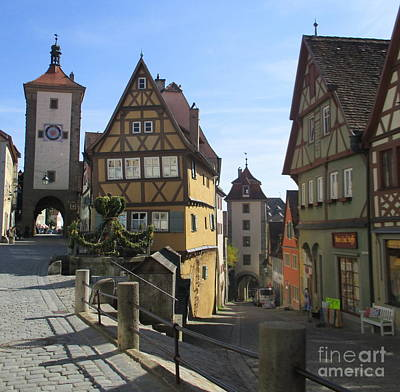 Photograph - Rothenburg 28 by Randall Weidner