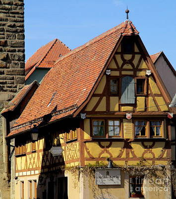 Photograph - Rothenburg 30 by Randall Weidner