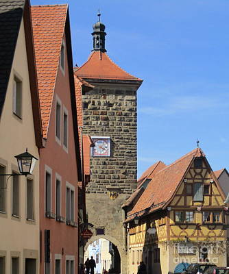 Photograph - Rothenburg 31 by Randall Weidner
