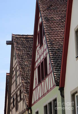 Photograph - Rothenburg 32 by Randall Weidner