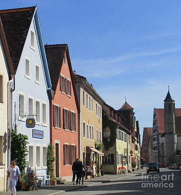 Photograph - Rothenburg 33 by Randall Weidner
