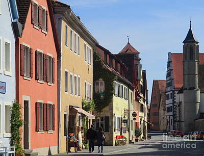 Photograph - Rothenburg 34 by Randall Weidner