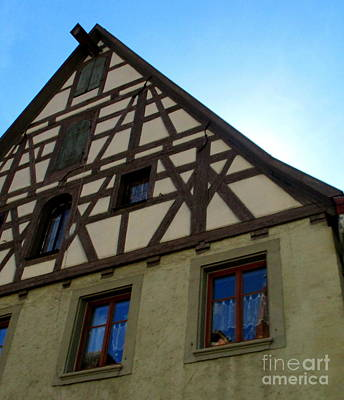 Photograph - Rothenburg 35 by Randall Weidner