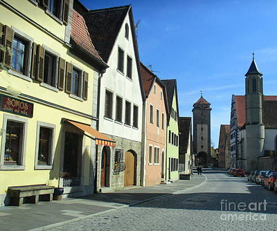 Photograph - Rothenburg 36 by Randall Weidner