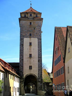 Photograph - Rothenburg 37 by Randall Weidner