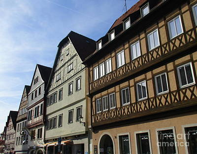 Photograph - Rothenburg 40 by Randall Weidner