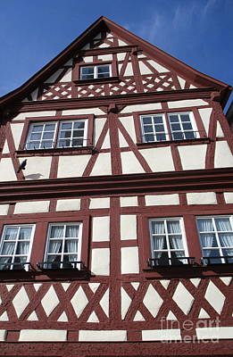 Photograph - Rothenburg 42 by Randall Weidner