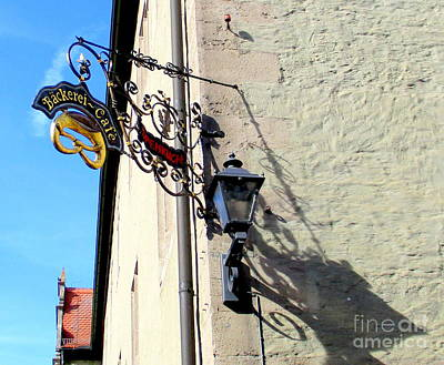 Photograph - Rothenburg 43 by Randall Weidner