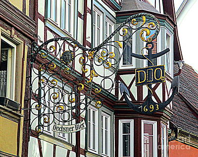 Photograph - Rothenburg 44 by Randall Weidner