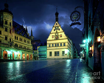 Photograph - Rothenburg by Edmund Nagele