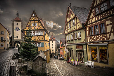 Photograph - Rothenburg Germany by Bill Howard