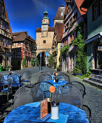 Photograph - Rothenburg by John Bushnell