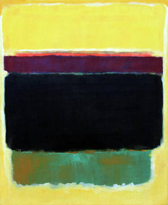 Photograph - Rothko's Untitled -- 1949 by Cora Wandel