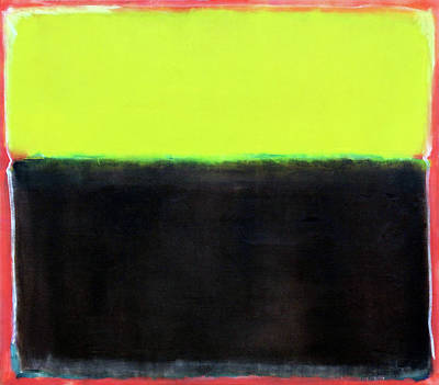 Photograph - Rothko's Untitled -- 1950 by Cora Wandel