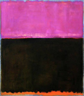 Photograph - Rothko's Untitled -- 1953 by Cora Wandel