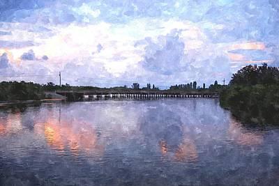 Rotonda River Roriwc Art Print