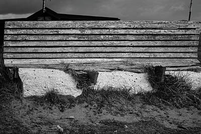 Barrow In Furness Wall Art - Photograph - Rotten Bench by Keith Elliott
