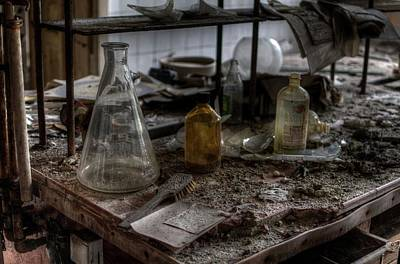 Digital Art - Rotten Lab by Nathan Wright