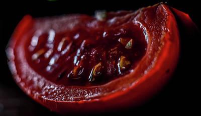 Photograph - Rotten Tomato by Hyuntae Kim