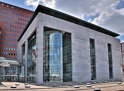 Photograph - Rotterdam Courthouse by Steven Richman