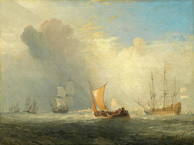 Painting - Rotterdam Ferry-boat by William Turner