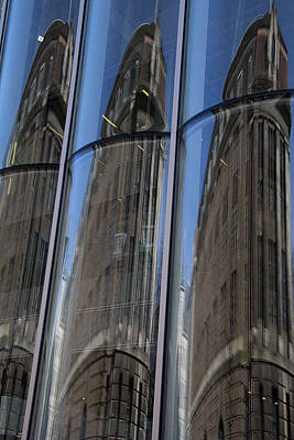 Photograph - Rotterdam Reflections by April Bielefeldt