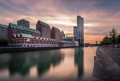 Photograph - Rotterdam Spoorweghaven by Mario Visser