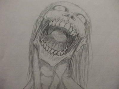 Rotting Hunger Art Print by John Prestipino