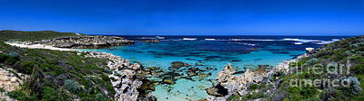 Rotty Photograph - Rottnest Panorama by Rob Hawkins