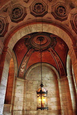 Beaux Arts Photograph - Rotunda Ceiling by Jessica Jenney