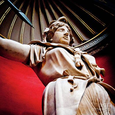 Warrior Goddess Photograph - Rotunda Colossals 2 Of 3 Vatican Museum Ancient Statues Rome Italy by Andy Smy