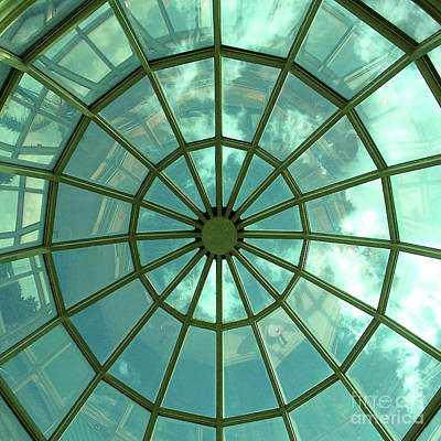 Photograph - Rotunda - Geometrical Modern/contemporary Art by Merton Allen