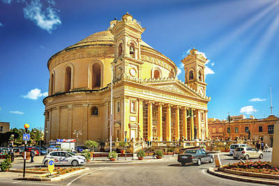 Photograph - Rotunda Of Mosta by Andrew Matwijec