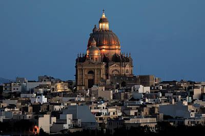 Rotunda Photograph - Rotunda Xewkija - Gozo by Joana Kruse