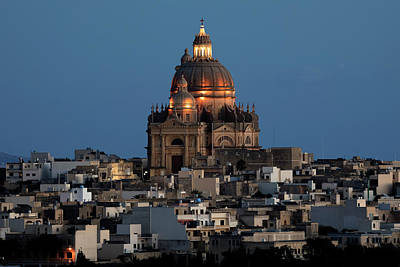 Maltese Photograph - Rotunda Xewkija - Gozo by Joana Kruse