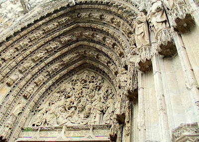 Photograph - Rouen Cathedral 13 by Randall Weidner
