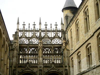Photograph - Rouen Cathedral 15 by Randall Weidner
