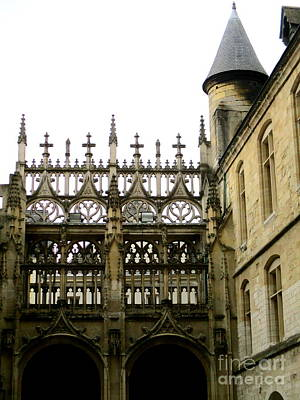 Photograph - Rouen Cathedral 18 by Randall Weidner