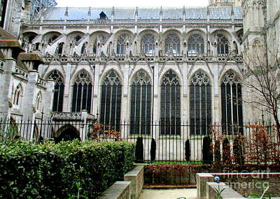 Photograph - Rouen Cathedral 20 by Randall Weidner