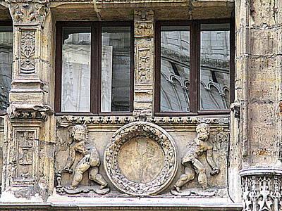 Photograph - Rouen Details 1 by Randall Weidner