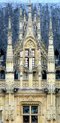 Photograph - Rouen Details 2 by Randall Weidner