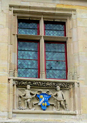 Photograph - Rouen Window 1 by Randall Weidner