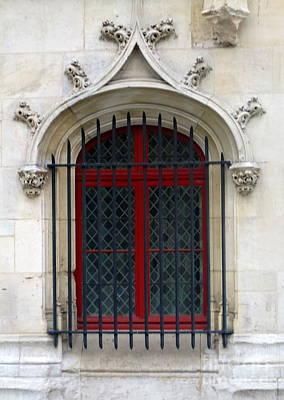 Photograph - Rouen Window 2 by Randall Weidner