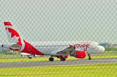 Photograph - Rouge Airline by Puzzles Shum